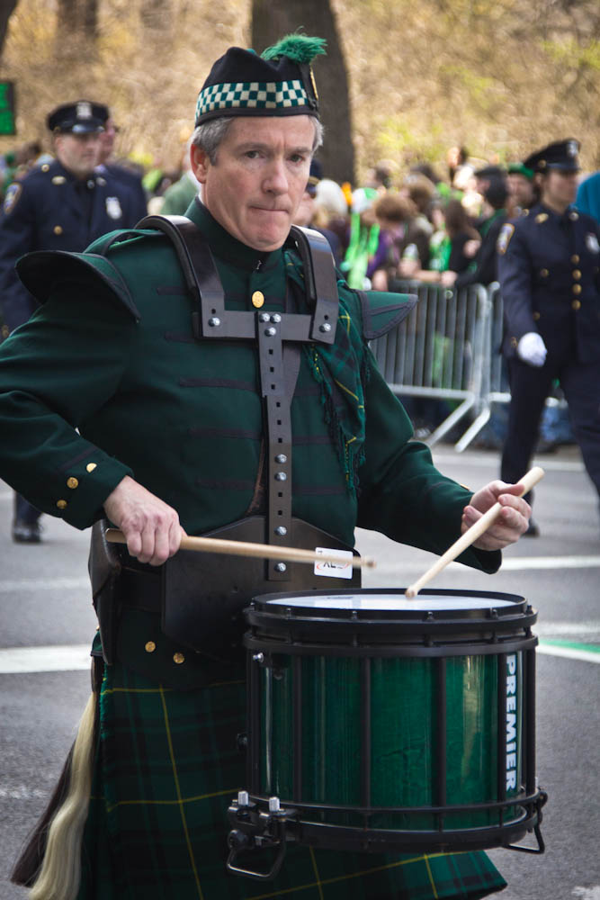 St Patrick's Day Parade, NYC, 2012