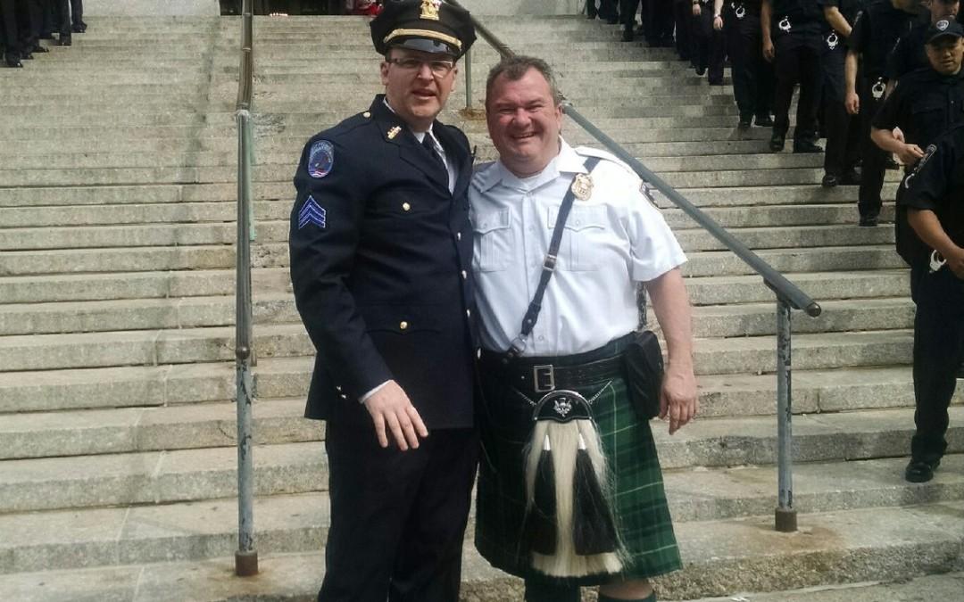 Sgt Joseph Dalton and Sgt Rob O'Connor